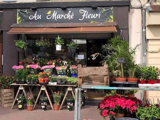 Au marché Fleuri